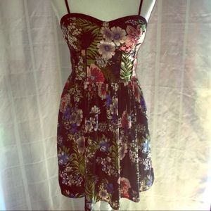 Band of Gypsies Floral Print Dress